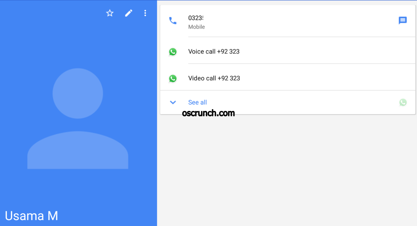Chat, Voice Call, and Video Call on WhatsApp for WiFi Tab