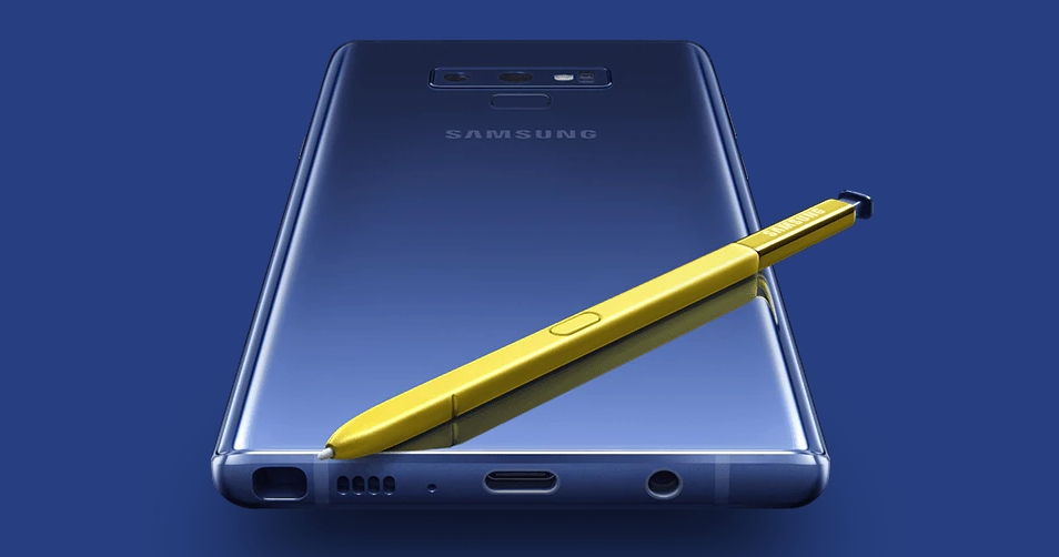 galaxy note 9 android pie update