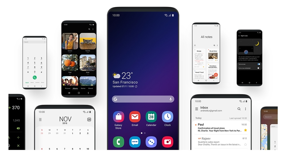 update galaxy note 9 android pie one ui