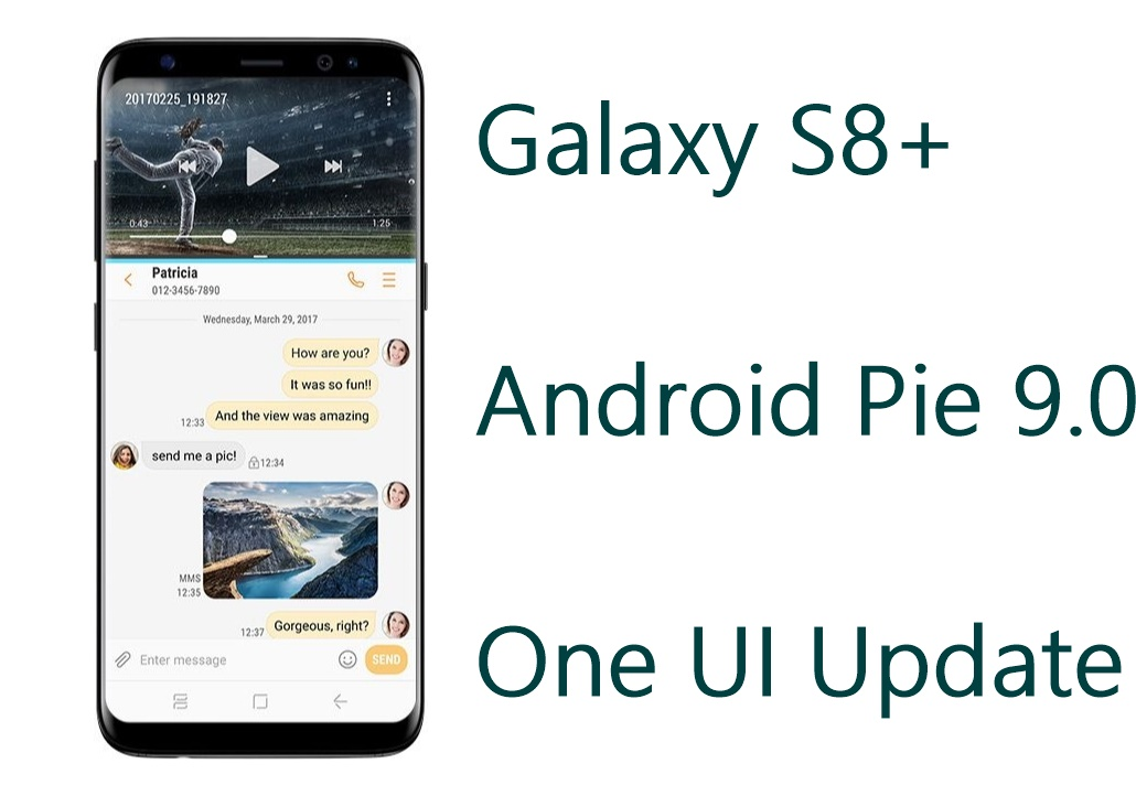 s8 plus android pie update firmware