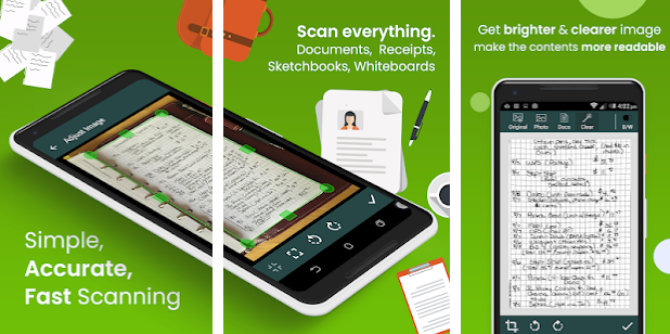 Document Scanners for Android