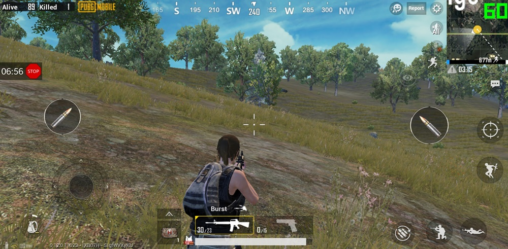 pubg mobile 60 fps counter