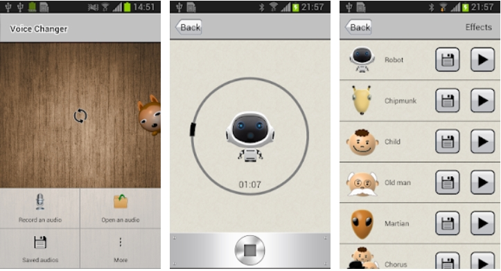 best prank call app for android voice changer
