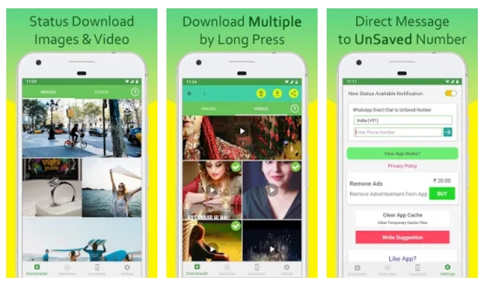 download whatsapp stories android