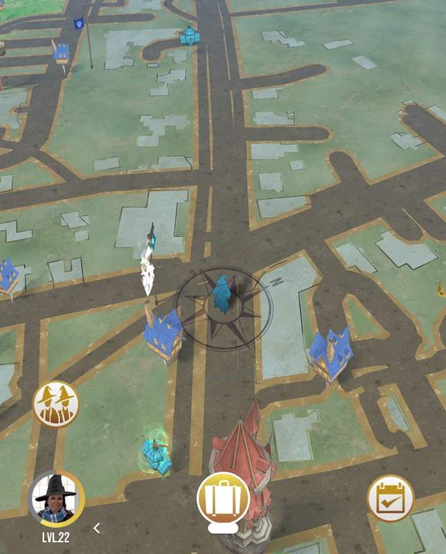 harry potter wizards unite character not moving location not updating