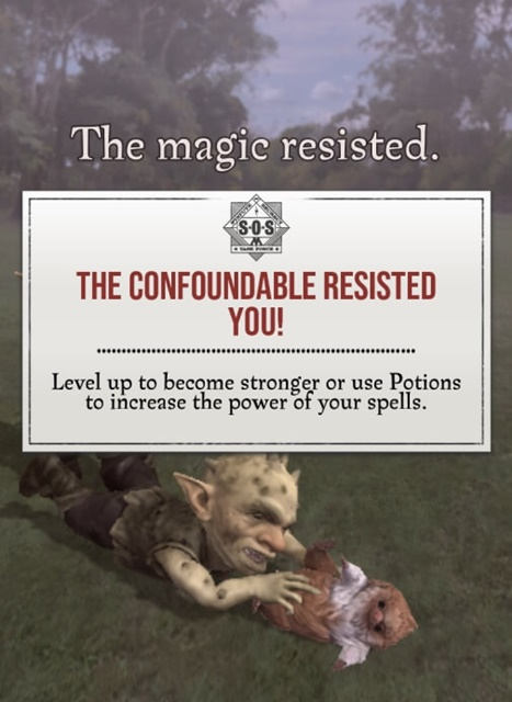 harry potter wizards unite spell energy low