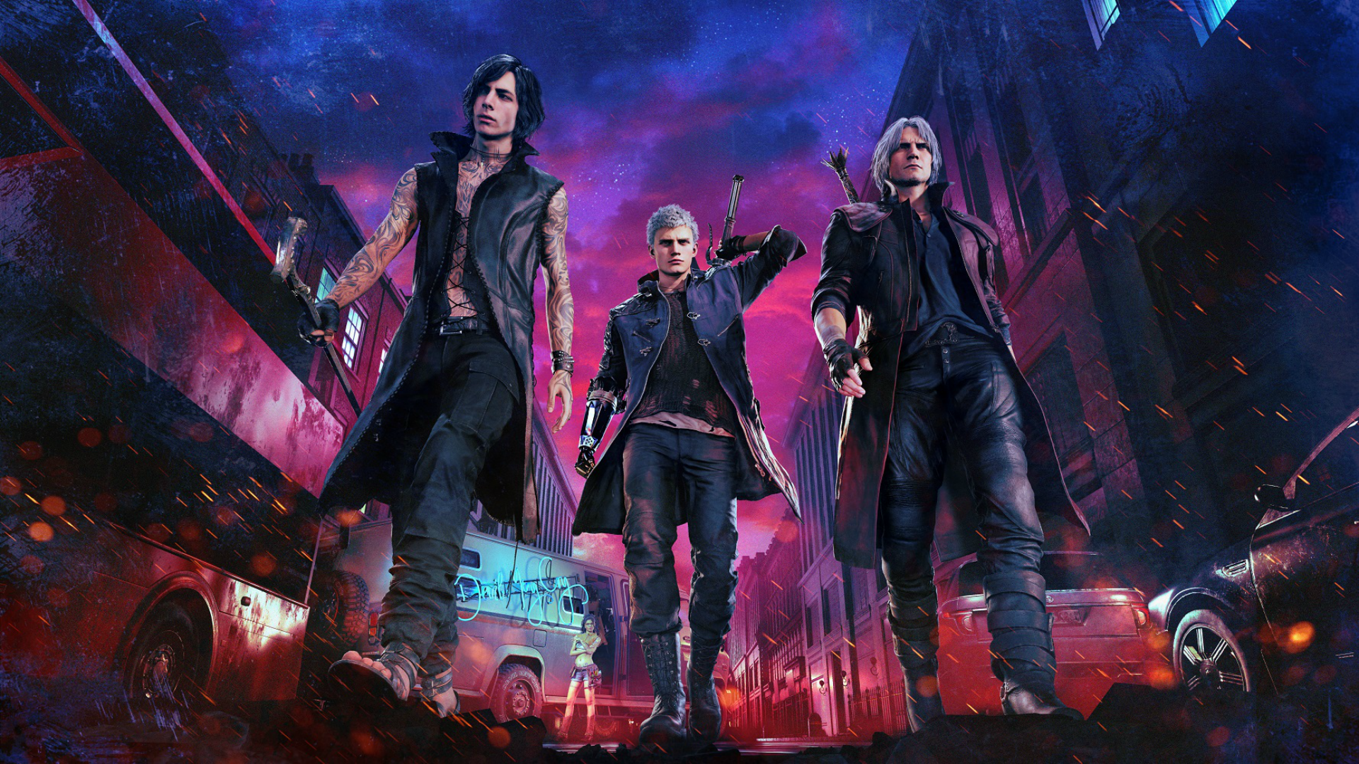 Devil May Cry 5 Wallpapers 4k hd