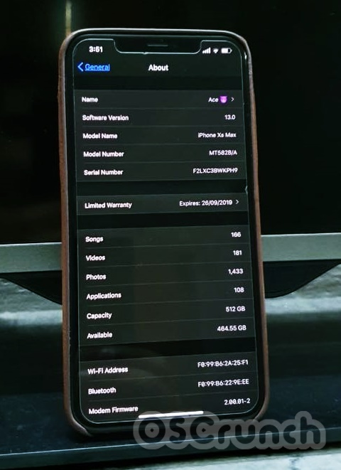 upgrade from iOS 13.1 Beta to iOS 13 Stable