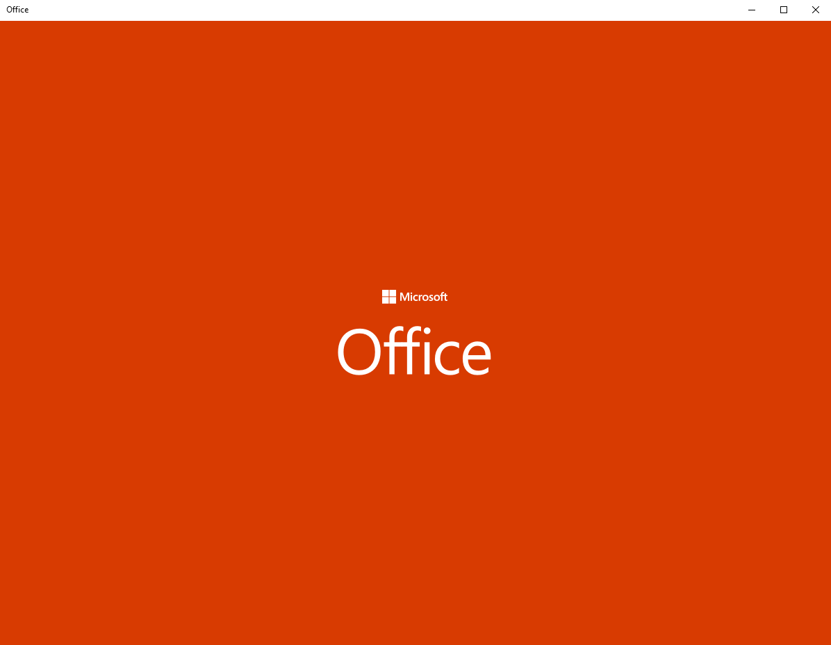 activate MS Office 2019